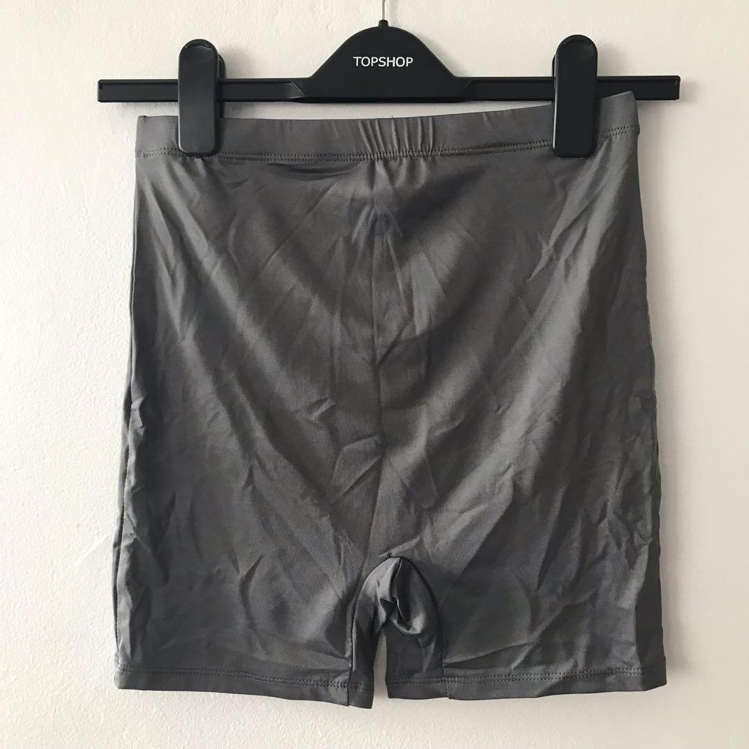 Charcoal Bike Shorts