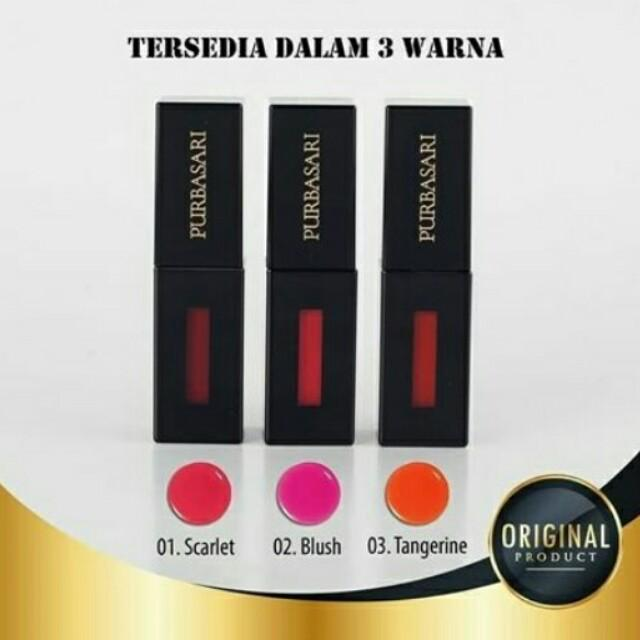 Cheek And Lip Tint Purbasari