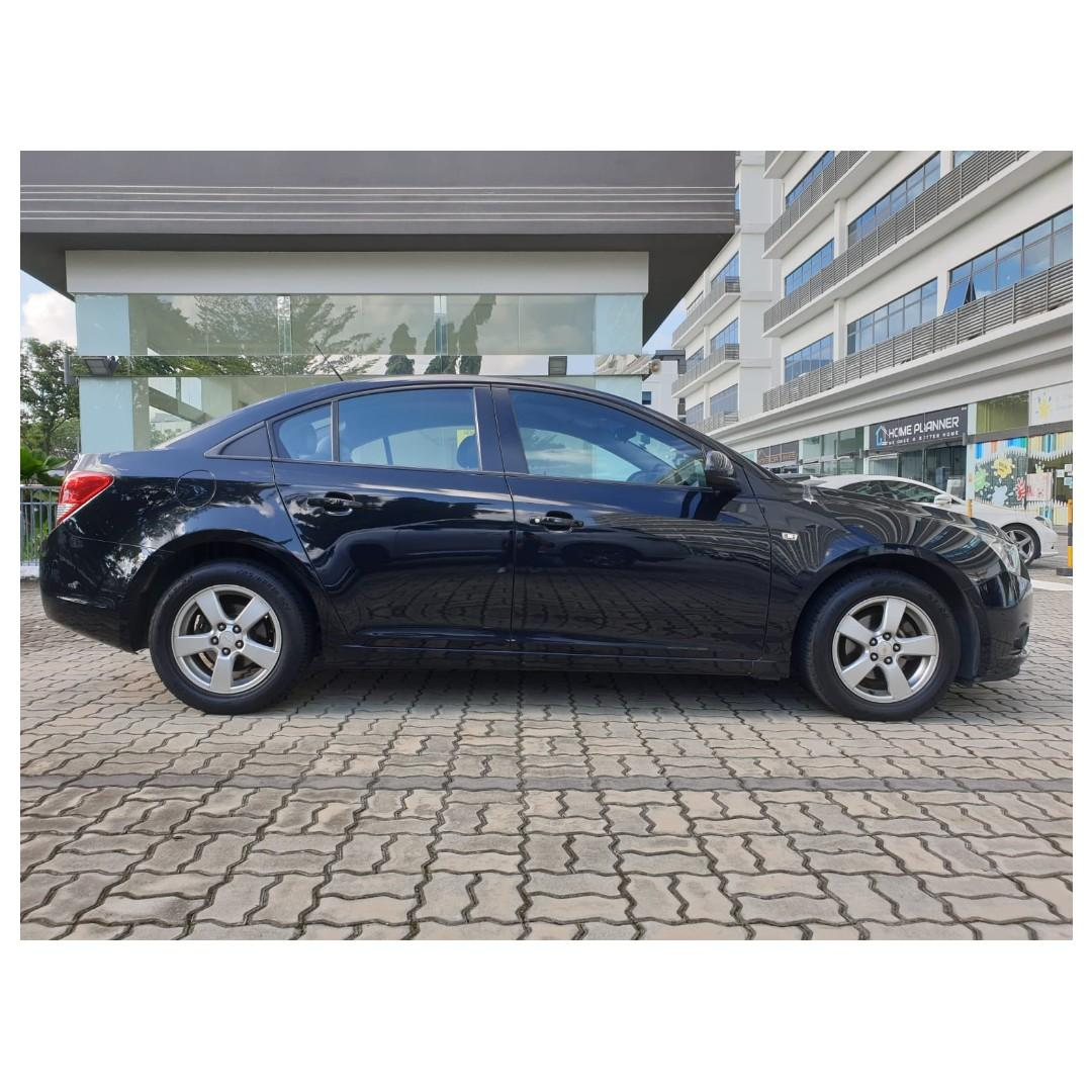 Chevrolet Cruze 1.6A -Anytime ! Any day! Your Decision!!