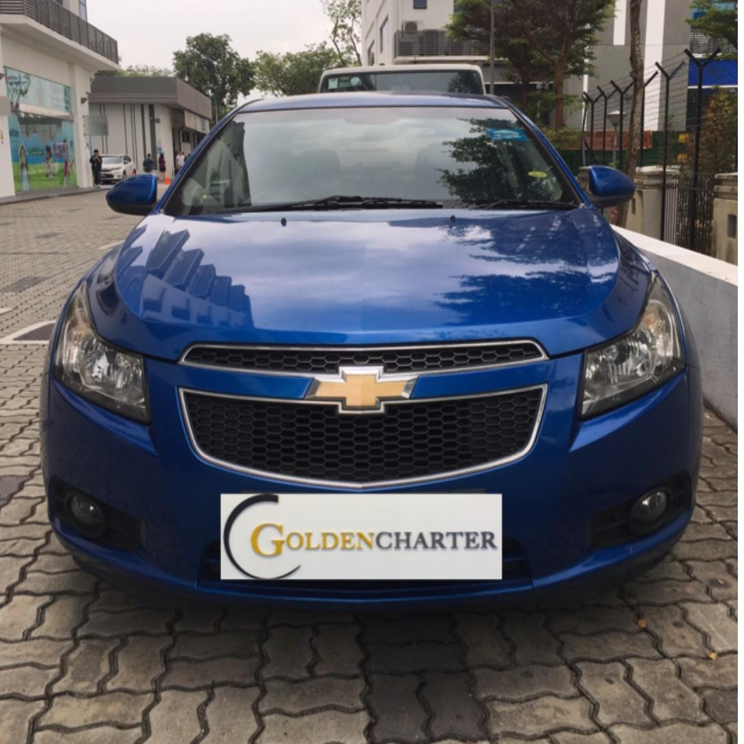 Chevrolet Cruze For Rent! weekly rental rebate available ! personal usage also can rent with us