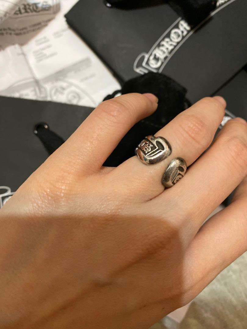 Chrome heart 克羅心戒指