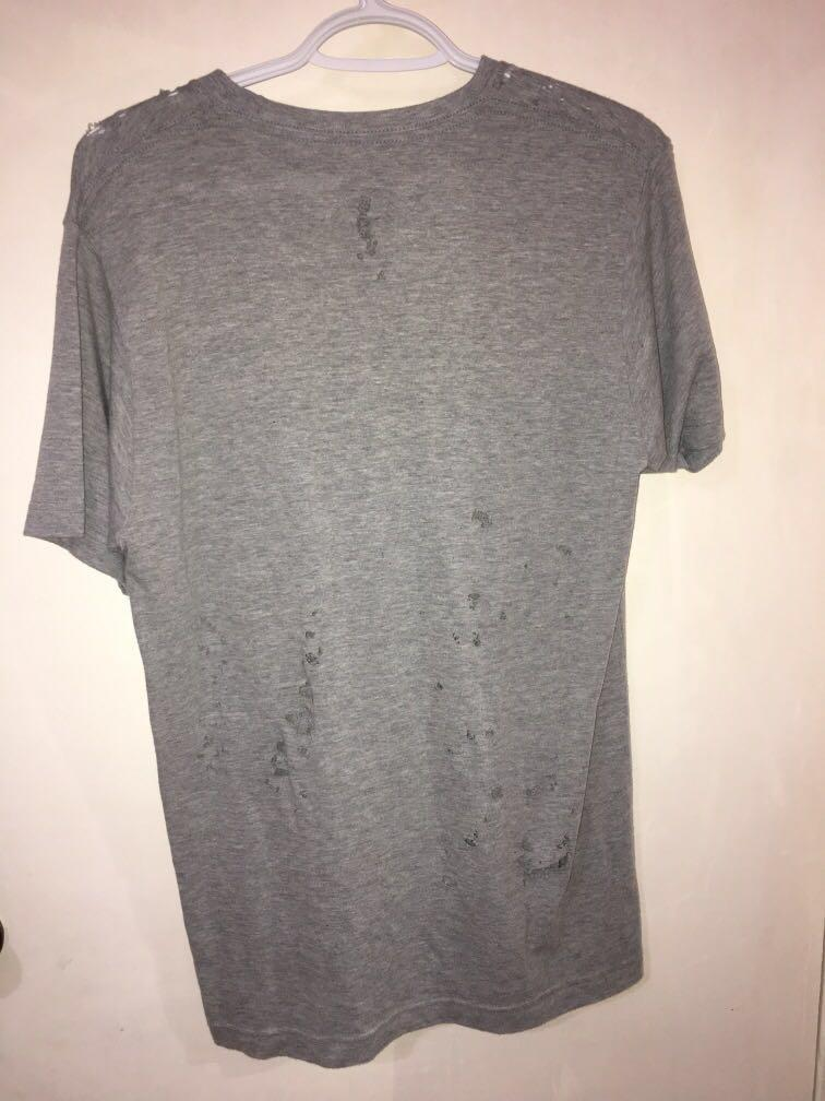 Coal n Terry vintage distressed Iron Maiden shirt - grey (M)