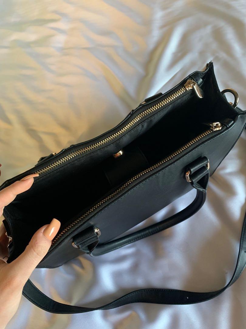 Colette  by Colette Hayman black handbag/shoulder bag