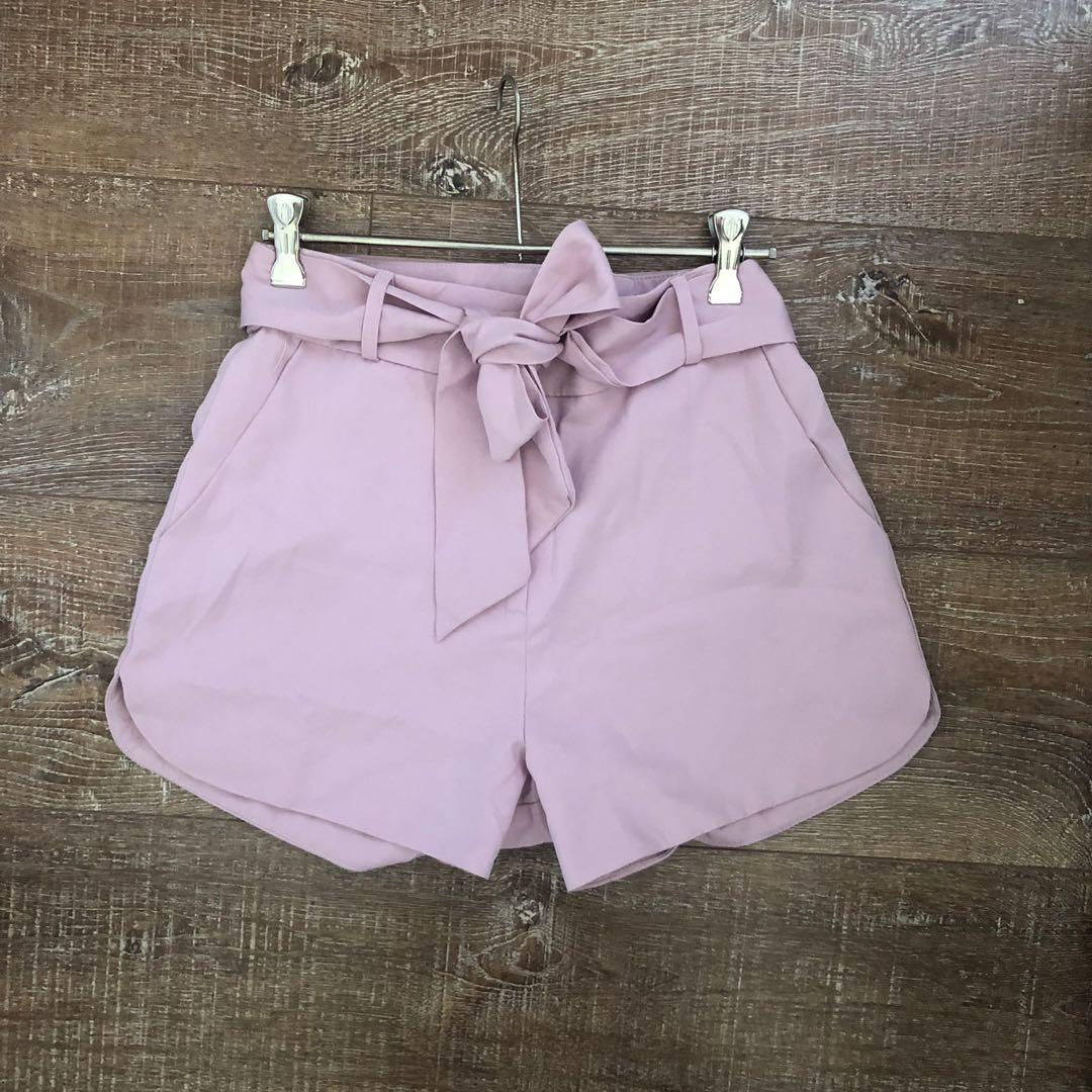 Dusty Pink Shorts