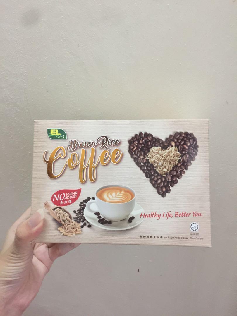 EL Brownrice coffee no sugar