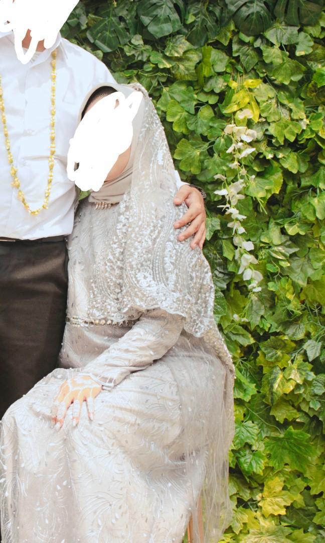 Gamis Brukat Buat Wedding atau Pesta