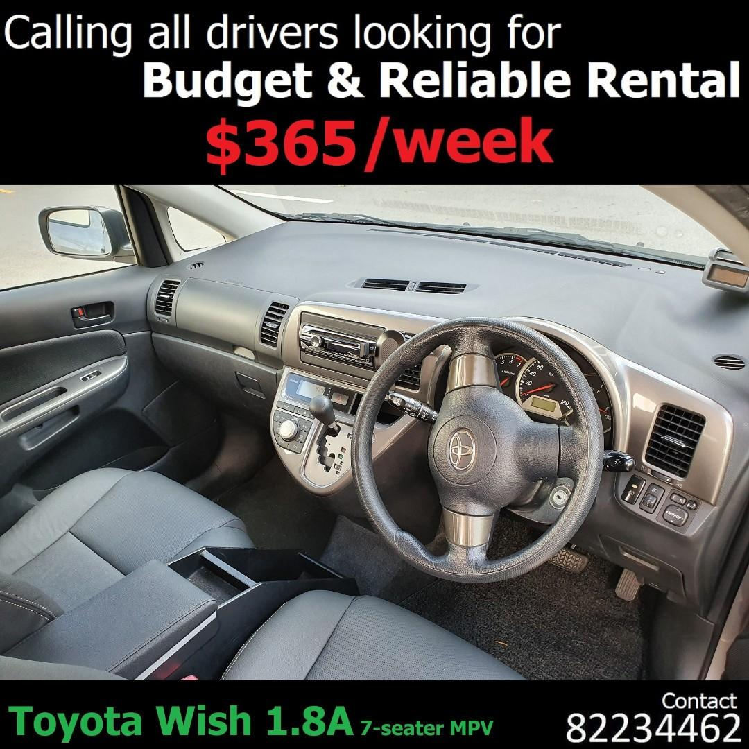 Honda AIRWAVE, Toyota ALTIS, WISH