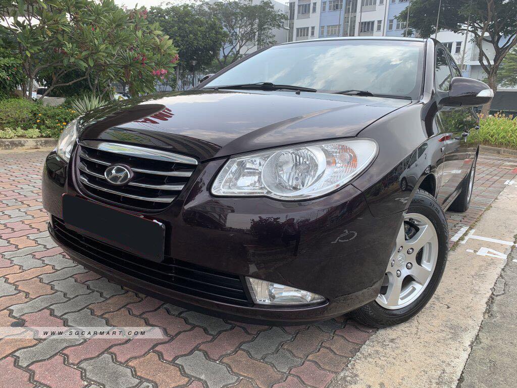 Hyundai Avante for rent PHV car rental private hire car lease