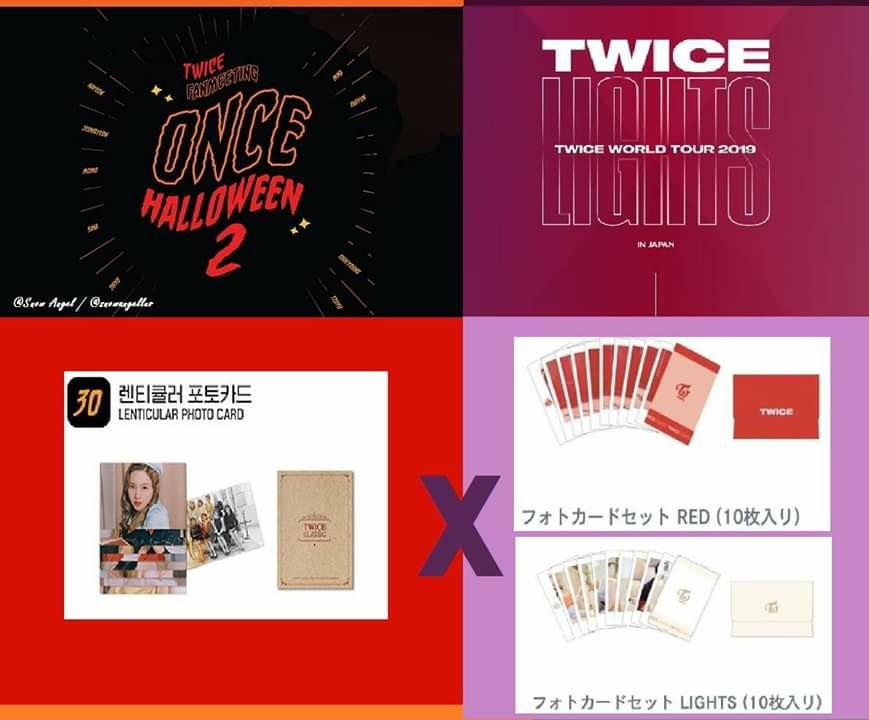 [INTEREST CHECK] TWICE ONCE HALLOWEEN 2 & TWICELIGHTS JP