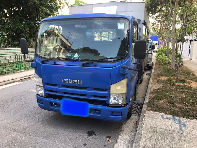 Isuzu Goods (Open Canopy) Lorry (Wooden Body)