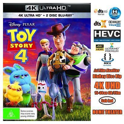 Jual / Isi Film HD 4K UHD kualitas BluRay Disc Rip utk HOME THEATER
