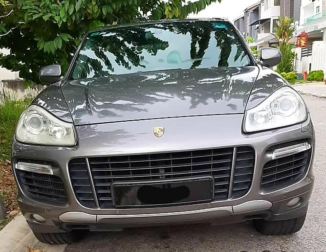 *KERETA SINGAPORE*🇸🇬🇸🇬🇸🇬 *JOIN GROUP WASAP 16👇 https://chat.whatsapp.com/IQVfB2EVrS4ExIWsp02WbW  Porsche cayenne turbo 4.8  tahun 2010 Condition tip top  JB *RM 21 000*  Wasap.my/60126373536 *WANT SELL BACK YOUR SCRAP CAR?LET ME HELP😊*