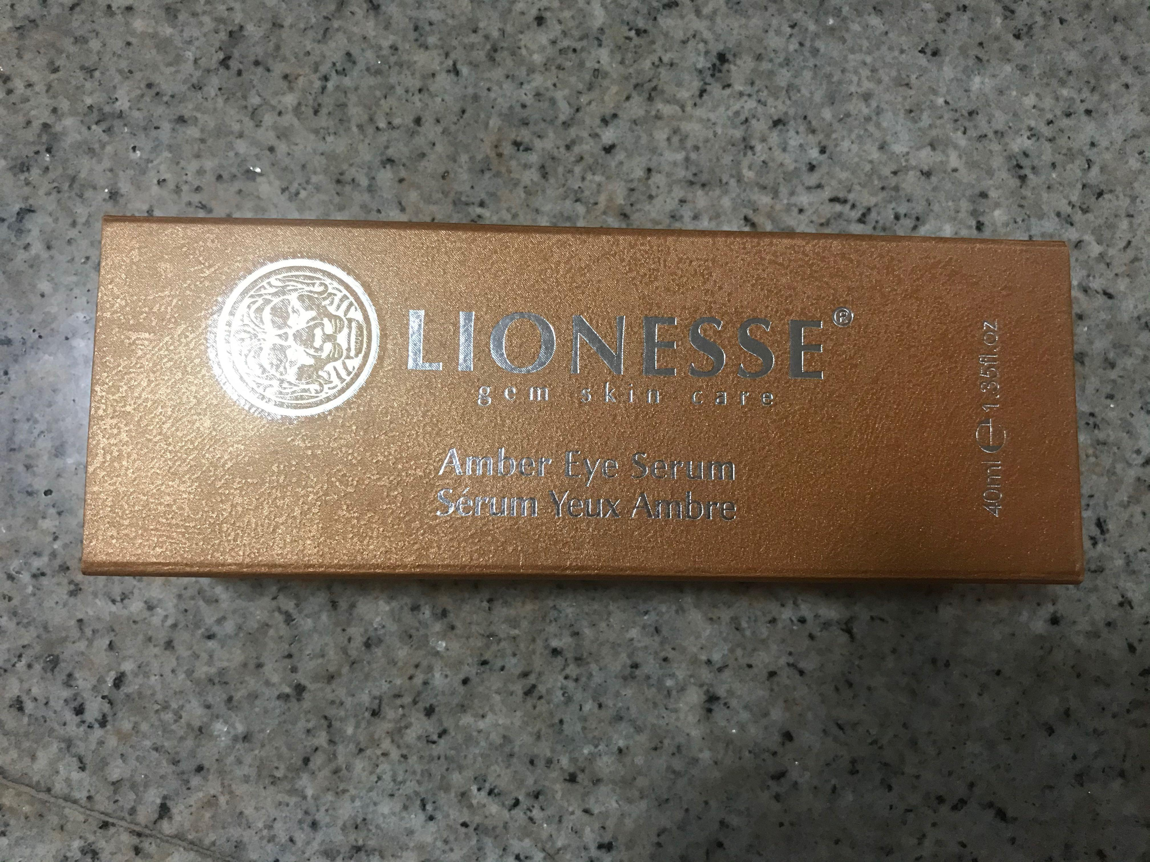 Lionesse Gem Skin Care Amber Eye Serum Health Beauty Face Skin Care On Carousell