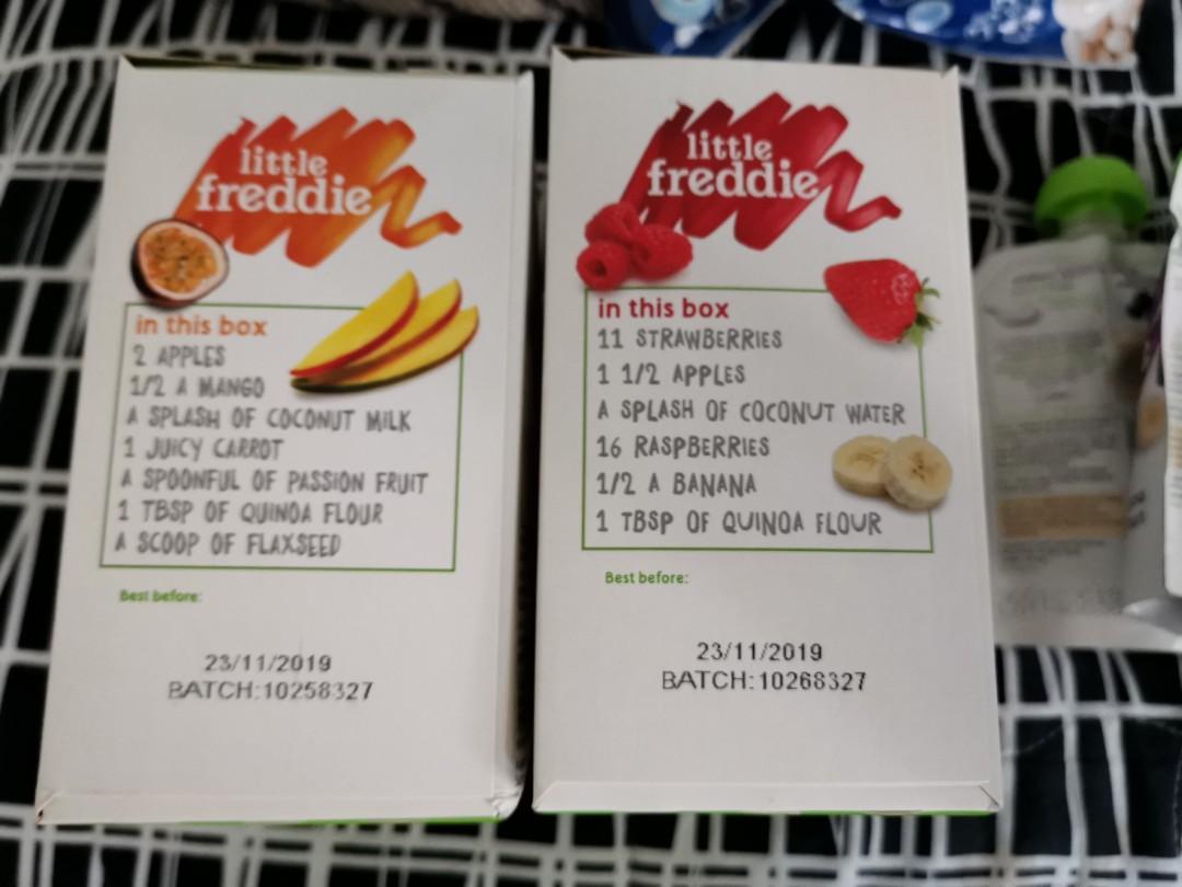 Little Freddie smoothie and Greek yogurt  16pcs