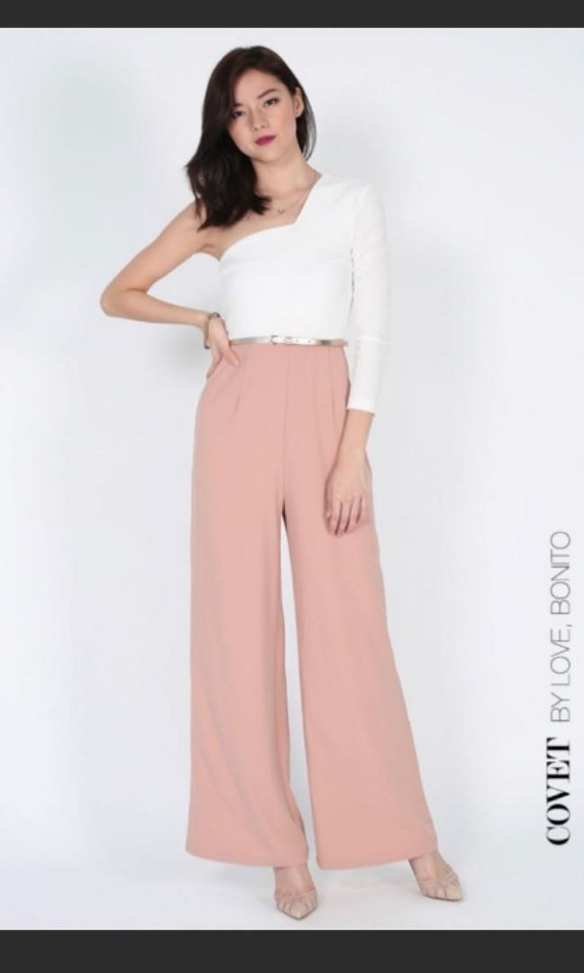 Lovebonito Azlyn Toga Jumpsuit