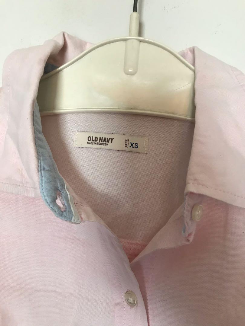 #maugendongan Kemeja Pink