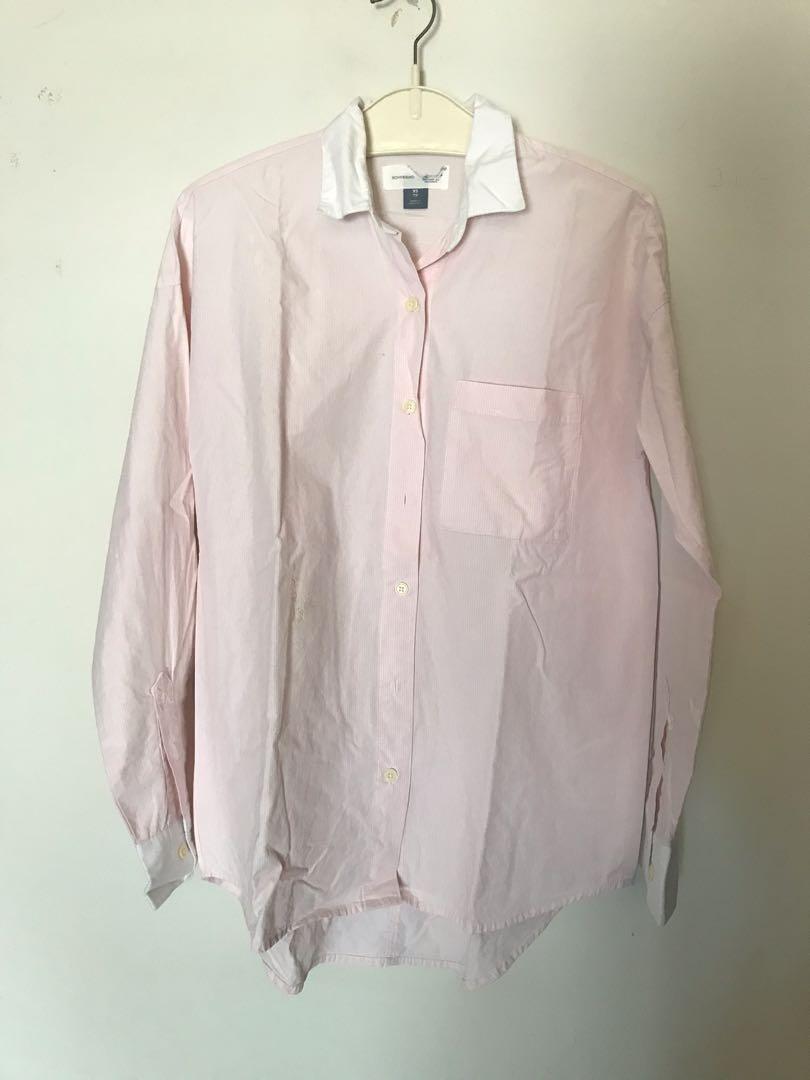 #maugendongan Pink Shirt