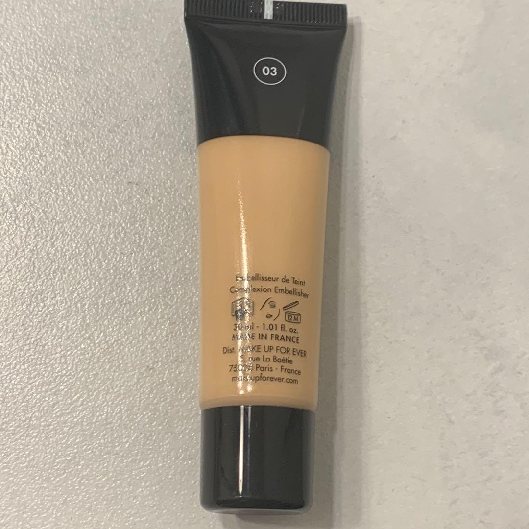 Near New Make Up Forever Blurring Skin Tint Shade 03