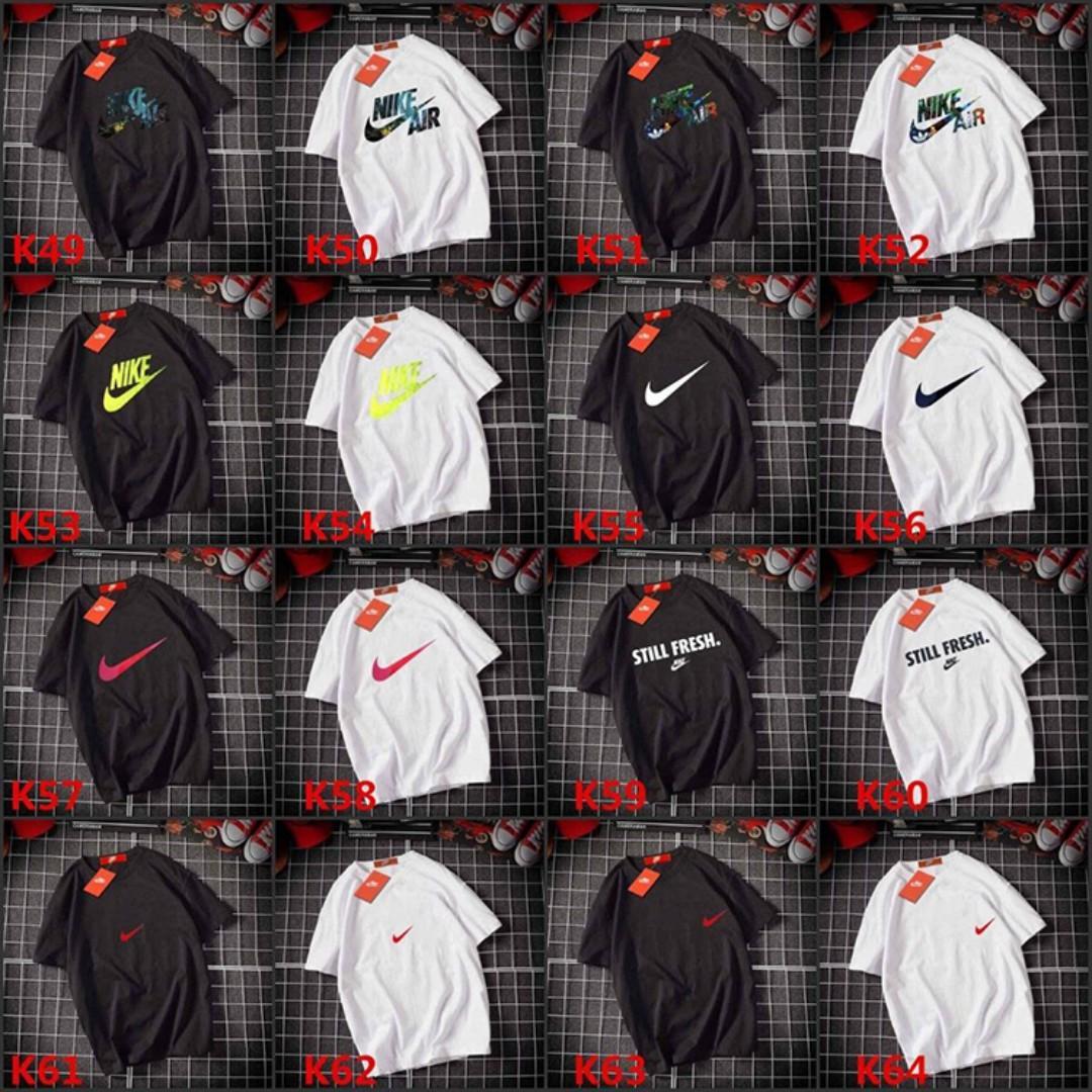 全新現貨Nike短袖T恤純棉印花logo圖案T素色T大學T短T