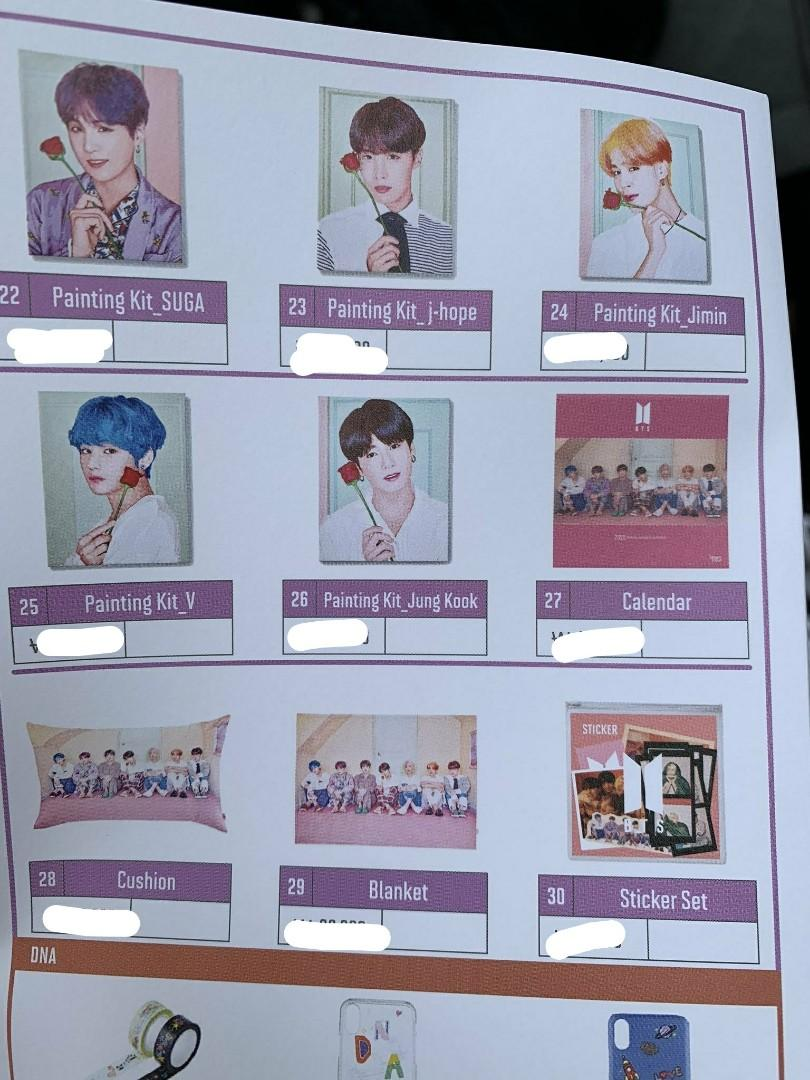 (No EMS) BTS POP UP STORE : House of BTS