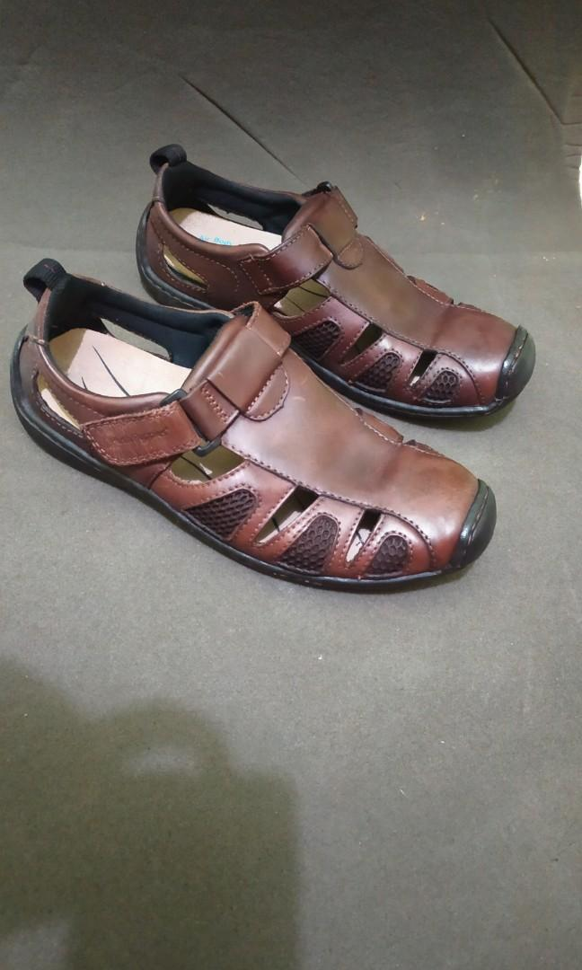 Sandal kulit hush puppies original