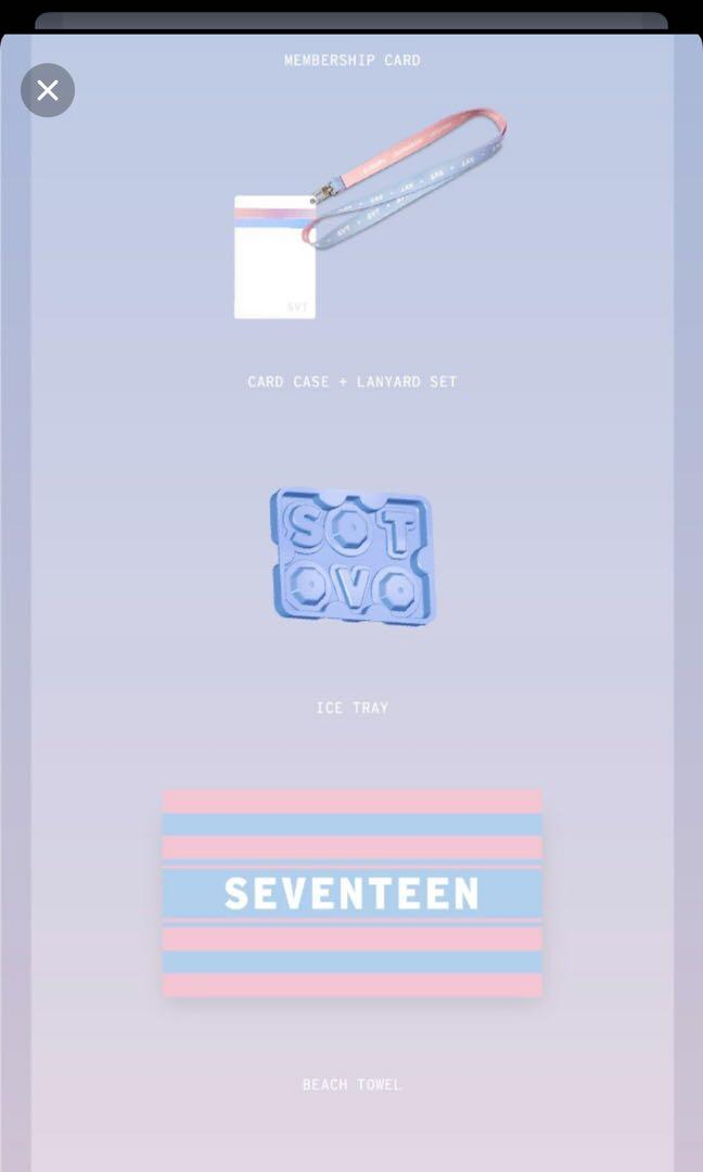 Seventeen carat 2nd 3rd 4th gen