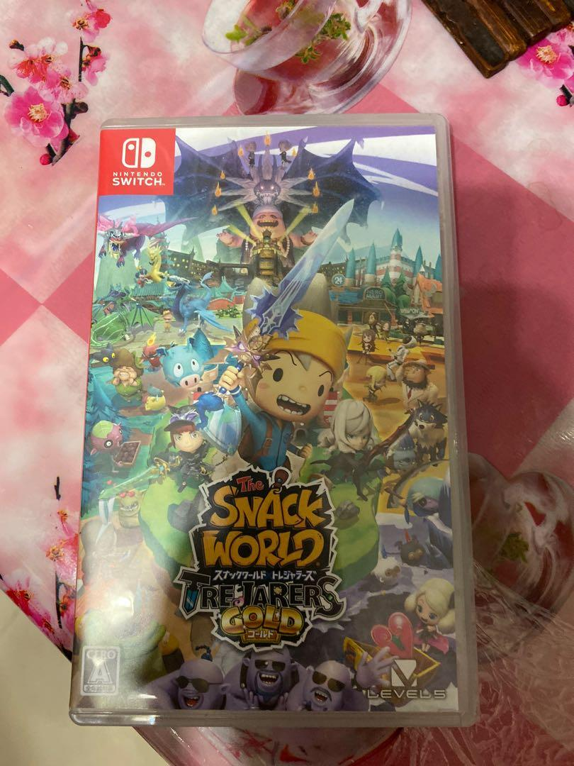 SWITCH THE SNACK WORLD