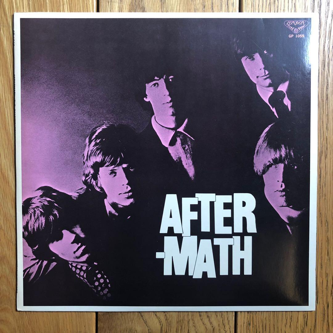 C256_The Rolling Stones-Aftermath (LP) with Poster