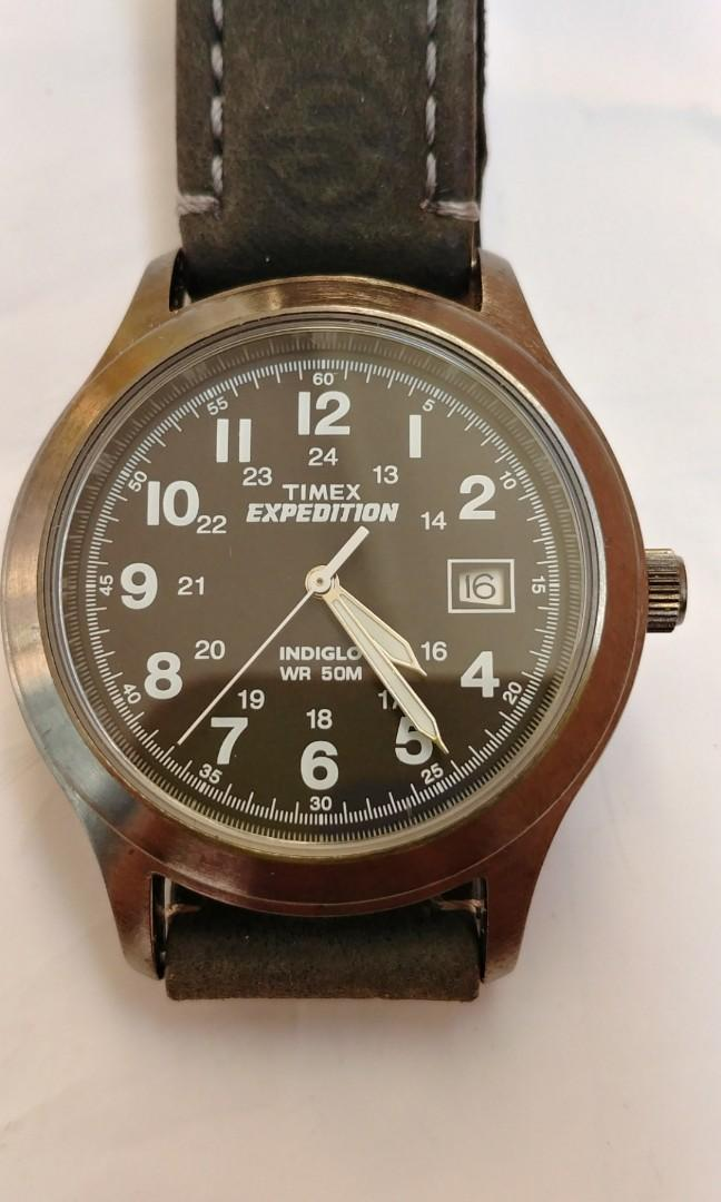 Timex Expedition Qz date watch
