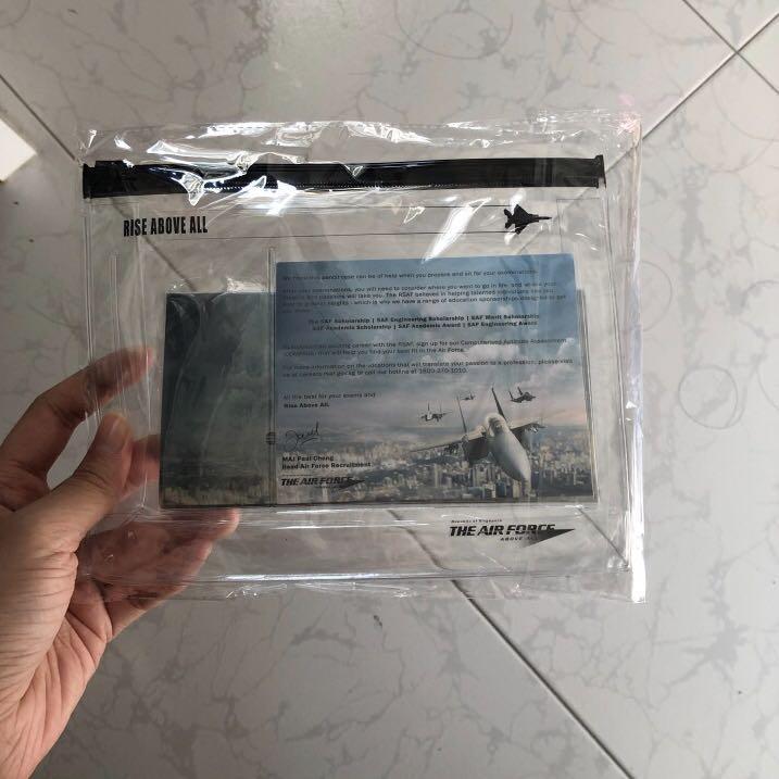 (to bless) transparent pencil case