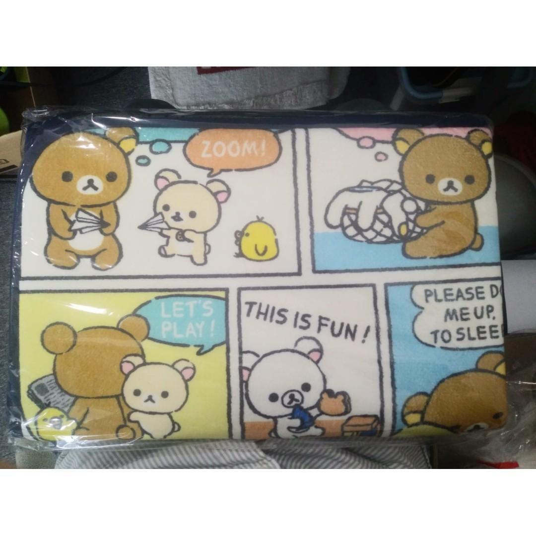 [Toreba 景品 日本直運 未開封] Rirakkuma 鬆弛熊 地毯 (B款) ~80cm