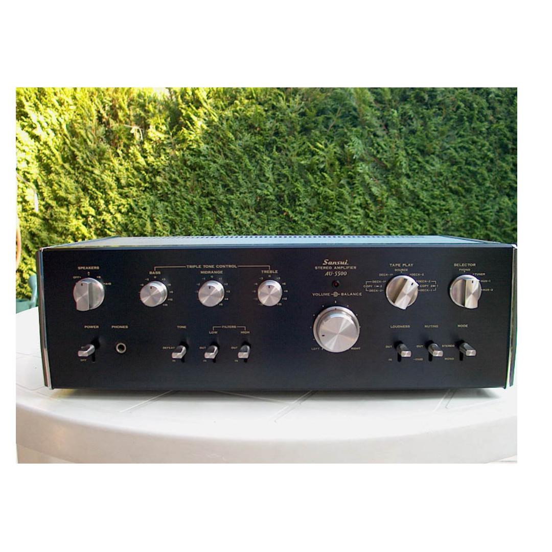 "Vintage SANSUI '74 Integrated Amp: ""Warm & Powerful"""