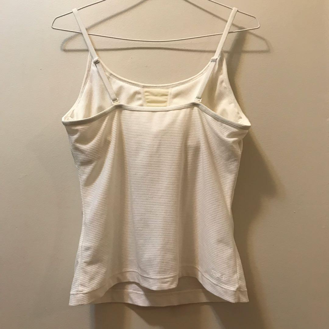 White Nike Fit Camisole top