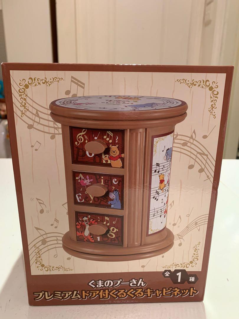 Winnie the Pooh 回転式 手飾盒 😍