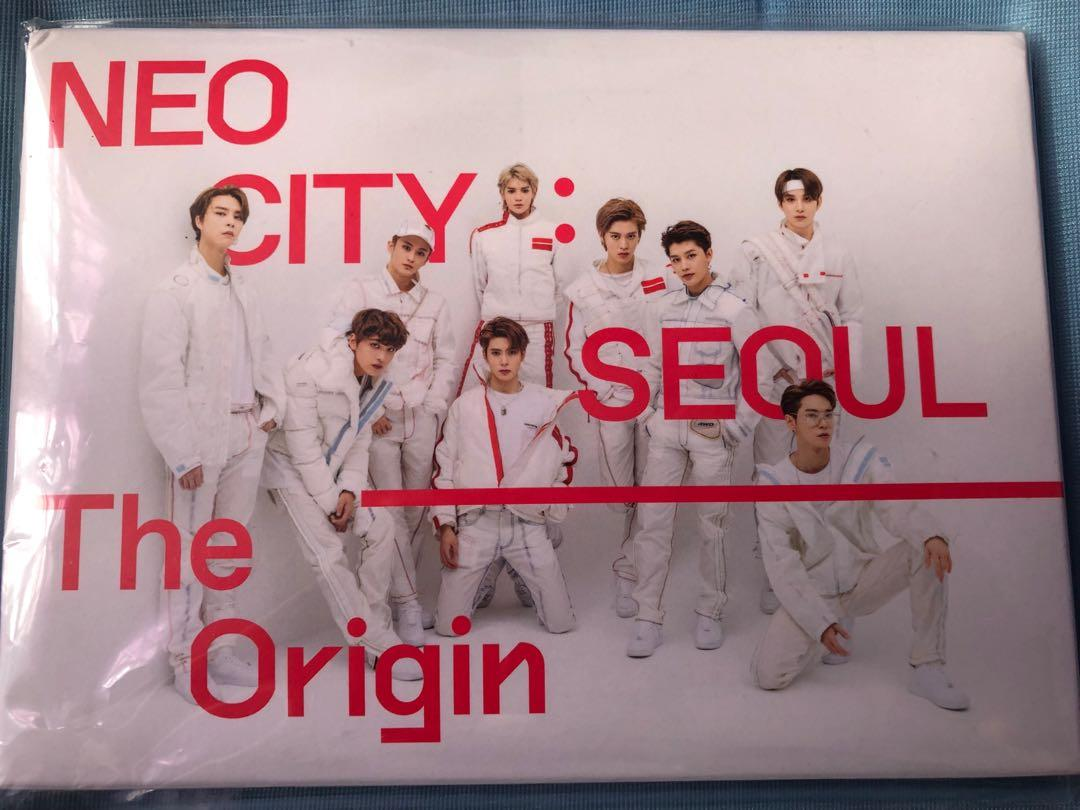 [WTS] NEO CITY SEOUL THE ORIGIN POSTCARD SET+FRAME ORIGINAL