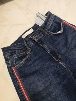 Zara Mid Rise Jean
