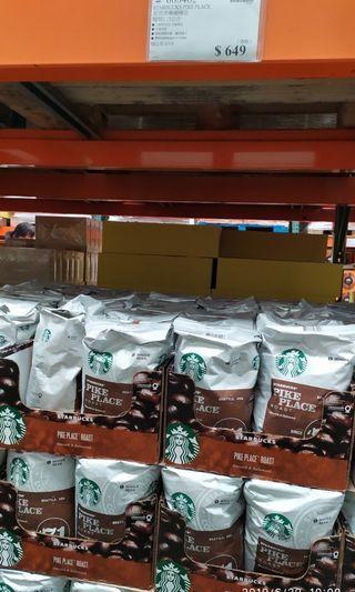 好市多代購 星巴克 派克市場咖啡豆1.13公斤