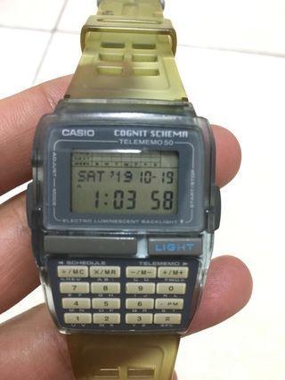 Vintage Casio Databank Dbc-63 Cognit Schema