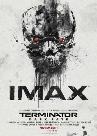 (電影海報) 魔鬼終結者 黑暗宿命 阿諾 天網 機器人 未來 生化人 康納 T800 好萊塢 創世契機 柏林 卡麥隆