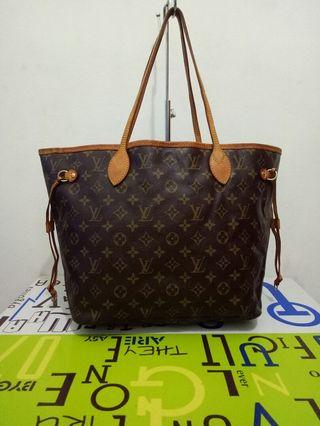 AUTH. LOUIS VUITTON NEVERFULL MM