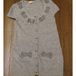 Knit & Co 看起來像毛料長版上衣 成份寫棉 #5折清衣櫃