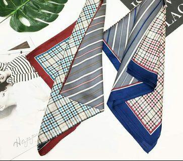 條紋圍巾格紋圍巾絲巾大方巾