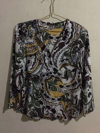 Blouse zara / blouse batik zara