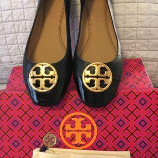 Tory Burch Chelsea Cap-Toe Ballet Flat Shoes