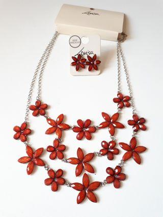 Lovisa Statement Necklace and Earring set #18Sale