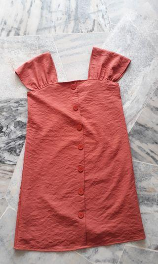 Dress with Buttons (S)