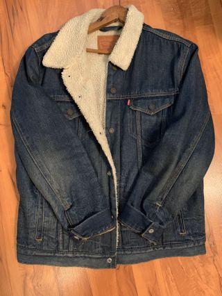 Sherpa Levi's Denim Jacket