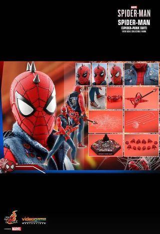 HOTTOYS MARVEL'S SPIDER-MAN SPIDER-MAN (SPIDER-PUNK SUIT)