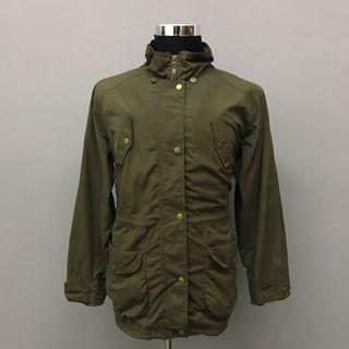 Twenty One Stage Fishtail Parka Green Jacket