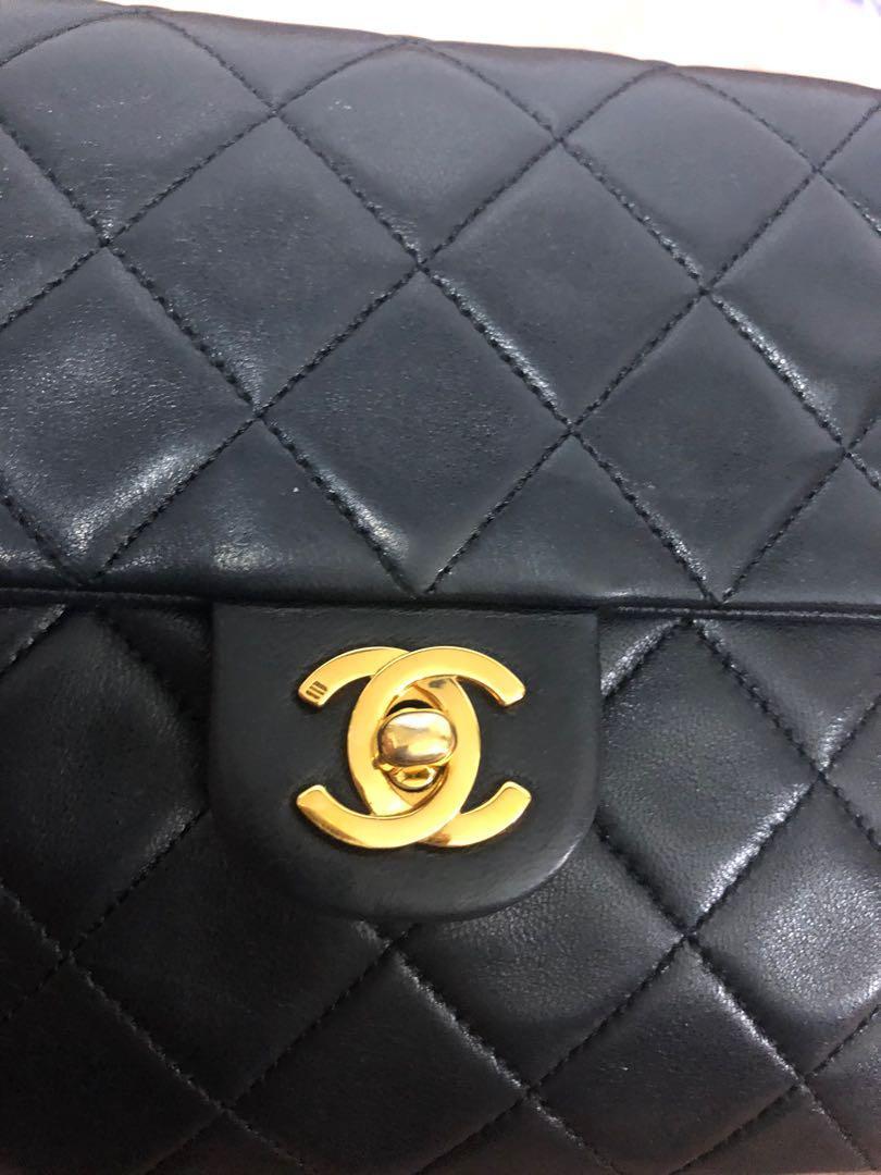 100% Authentic Chanel Flap Bag Vintage